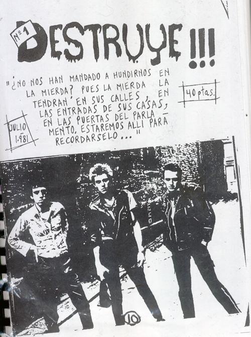 DESTRUYE FANZINE 1981-1987