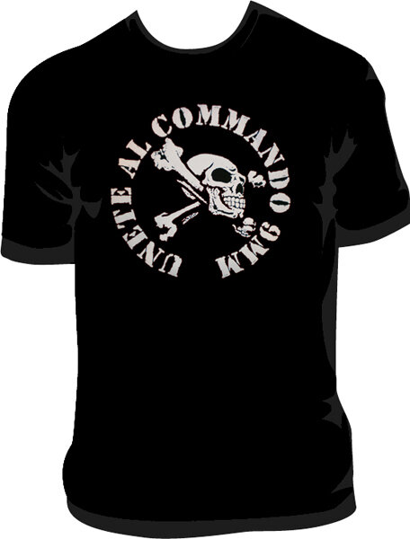 CAMISETA COMANDO 9MM