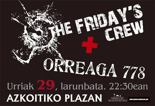 29 Oct. ORREAGA 778, FRIDAYS CREW
