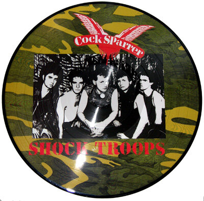 COCK SPARRER / Shock troops