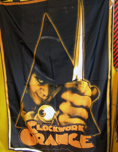 BANDERA CLOCKWORK ORANGE (ALEX)