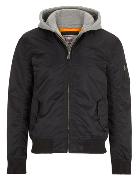 BOMBER LONSDALE NEGRA