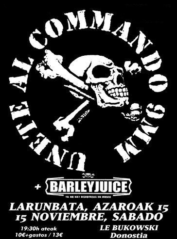 15.NOV COMANDO 9MM, BARLEYJUICE