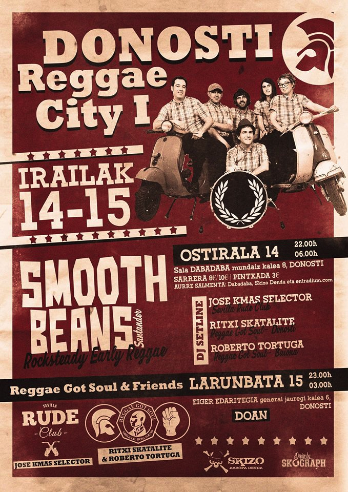 14-15 SEP: DONOSTI REGGAE CITY I