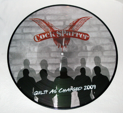 COCK SPARRER/ GUILTY AS CHARGED