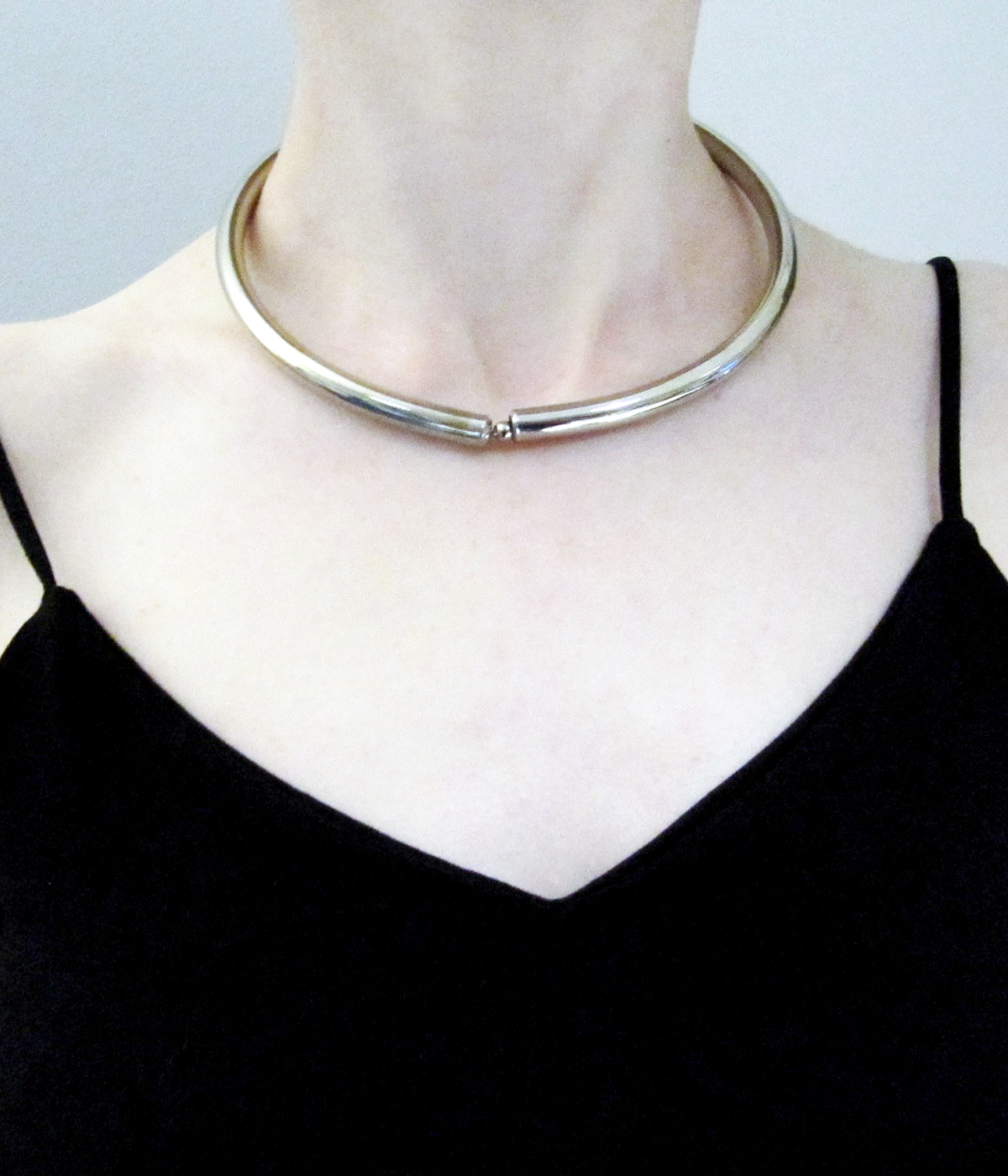 COLLAR PUNK PIERCING FINO
