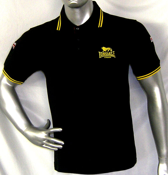 Polo Lonsdale negro