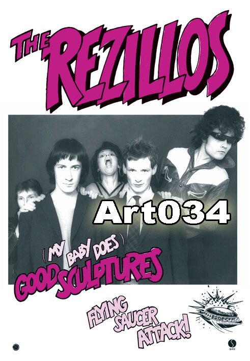 13-.POSTER THE REZILLOS