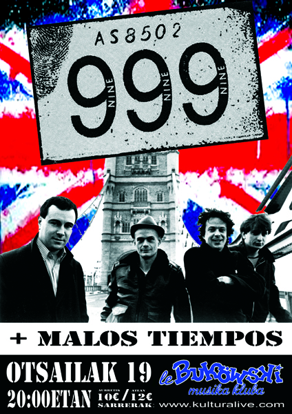 19 FEB 999(UK), MALOS TIEMPOS