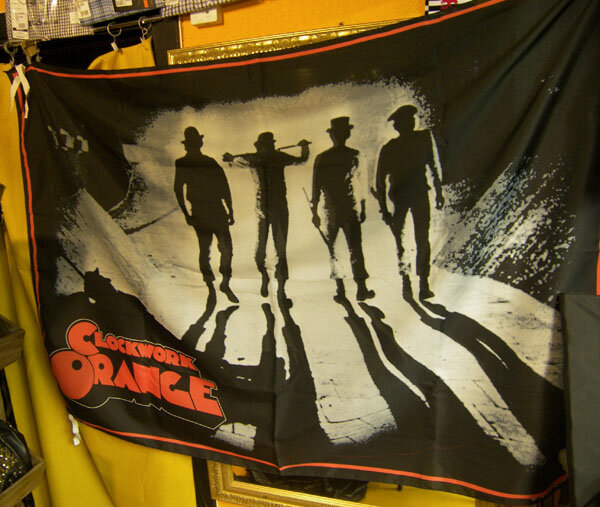 BANDERA CLOCKWORK ORANGE (DRUGOS)