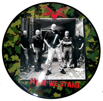 COCK SPARRER / Here We Stand