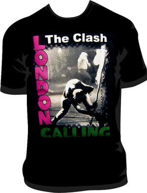 CAMISETA THE CLASH ( LONDON CALLING)