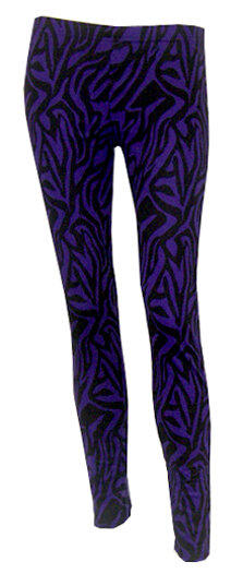 LEGGINGS CEBRA MORADA