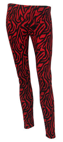 LEGGINGS CEBRA ROJA