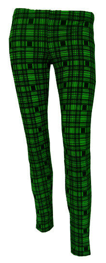 LEGGINGS ESCOCES VERDE