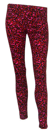 LEGGINGS LEOPARDO ROJO (U)