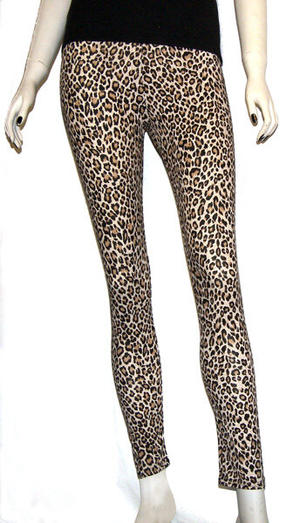 LEGGINS LEOPARDO NATURAL