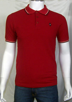 Polo Spirit of 69 rojo