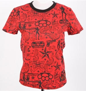CAMISETA RAW INK