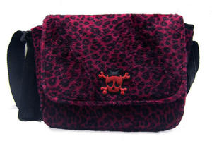 BOLSO LEOPARDO CHERRY